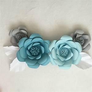 Paper Flower Tutorial AshAndCrafts - BigDIYIdeas com