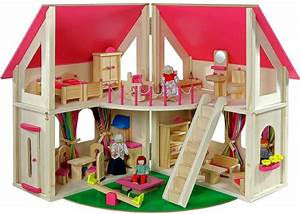 Kinderzimmer Ab 3 Jahren : howa 7013 4027914070130 holz puppenhaus set klappbar howa ab 3 jahren natur rosa incl 21 tlg ~ Buech-reservation.com Haus und Dekorationen