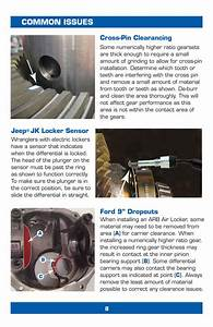 Ring  U0026 Pinion Installation Instructions  U2013 The Ranger Station