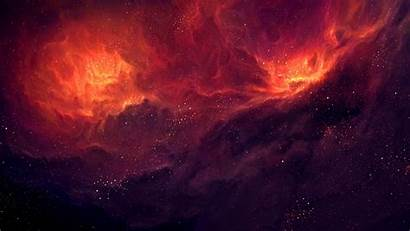Space Stars Nebula Clouds Dust Wallpapers Fire