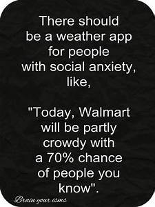 Funny Pictures ... Funny Social Anxiety Quotes