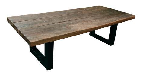 gifi cuisine table basse bois fer cuisine naturelle