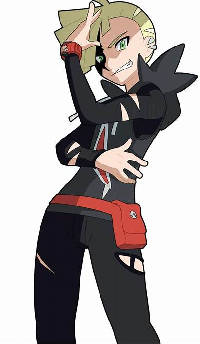 Anime Gladion Pokemon Boy Version Cool Gladio
