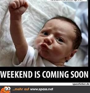 Lustiges Bild Wochenende : yippiiiiii endlich wochenende lustige bilder auf ~ Frokenaadalensverden.com Haus und Dekorationen