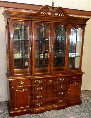 vintage bernhardt china cabinet furniture antique price guide
