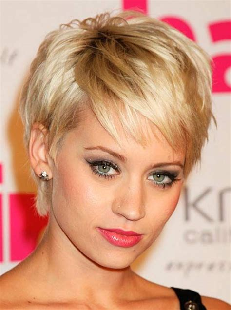 fabulous short hairstyles  bangs pretty designs