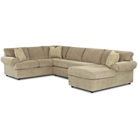 full sleeper sofa with chaise klaussner julington transitional sectional sofa with