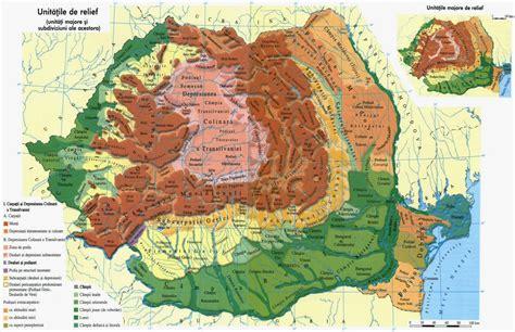 Harta Romaniei rutiera, harta turistica online