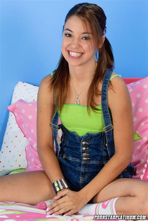 Wild Young Gigi Rivera In Pigtails Poses In Her Panties To