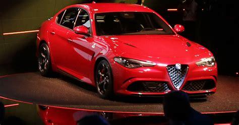 Chrysler Alfa Romeo by Fiat Chrysler Unveils New Alfa Romeo Sedan For U S
