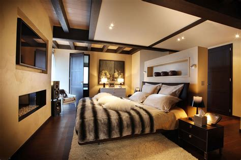 Modern Master Bedroom Designs For Couples-home Combo