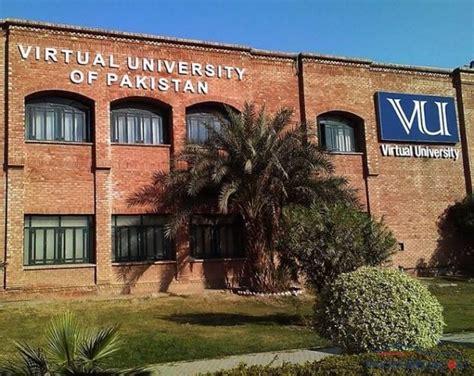 virtual university  pakistan  lahore contacts