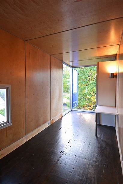 Container Bedroom Shipping Apartment Box Masses Meet