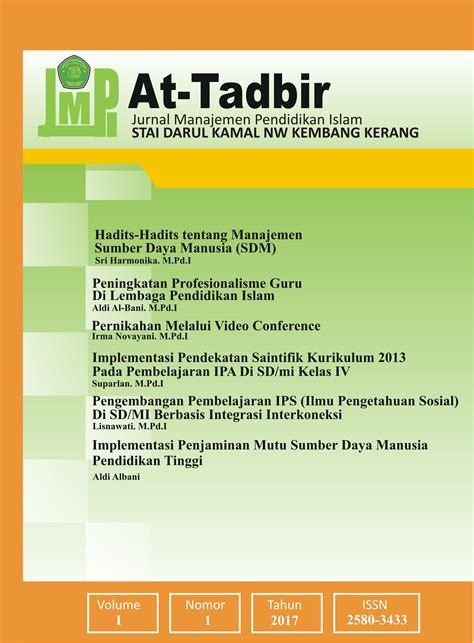 The editors and publisher of jurnal manajemen teori & terapan have made every possible effort to verify the accuracy of all information contained in this publication. Jurnal Pembelajaran Kelas 1 Sd Kurikulum 2013