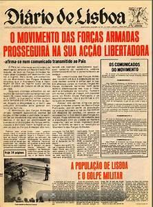 Historiando  Jornais No Dia 25 De Abril De 1974