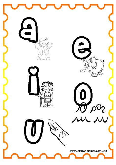 diferentes letras vocales y abecedarios para imprimir y colorear colorear im 225 genes