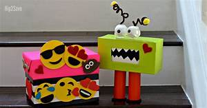 Creative Valentine's Day Box Ideas (Monster and Emoji ...