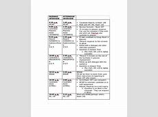 Interview Schedule Template 11+ Free Word, PDF Documents