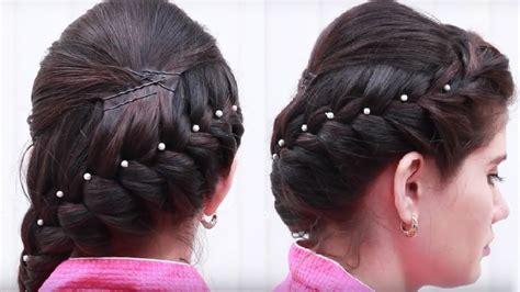 latest hair style  girls ladies hair style step