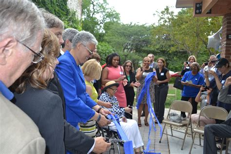 Perlman Apartments Evanston by President Preckwinkle And Other Elected Officials Cut