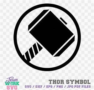 Thor Symbol Hero Logo Thor symbol Decal png dxf jpg eps   Etsy