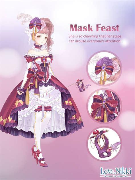 mask feast love nikki dress  queen wiki fandom