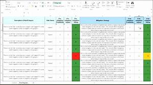 attractive raid log template component resume ideas With project raid log template