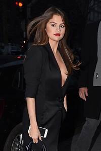 Selena Gomez in Black Dress -03 - GotCeleb