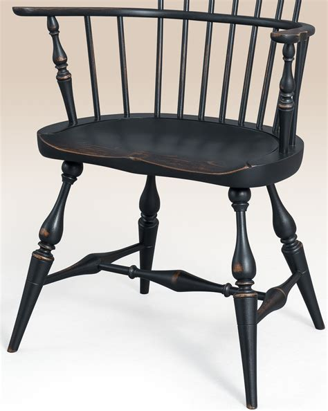 historical greenwich fan back chair