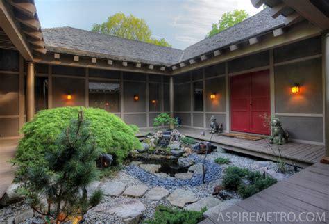 woodland zen retreat asian landscape  york  aspire metro magazine