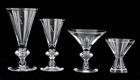 Steuben Barware a lot of steuben quot teardrop quot glassware 05 20 10 sold 690