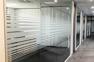 Sichtschutz Für Fensterscheiben : glaswand sichtschutz mit sandstrahlfolie aha print ~ Markanthonyermac.com Haus und Dekorationen