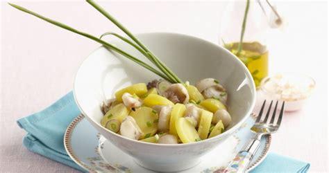 comment cuisiner poulpe salade de pompadour aux poulpes la pomme de terre label