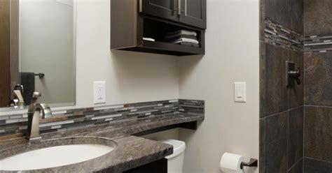 timeatremodel job  curb shower integrated vanity top
