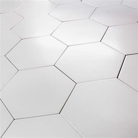 carrelage hexagonal blanc sol et mur parquet carrelage