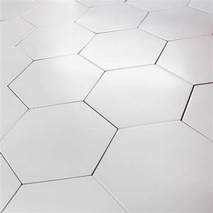 Carrelage Hexagonal Blanc : carrelage hexagonal blanc sol et mur parquet carrelage ~ Premium-room.com Idées de Décoration