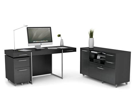 best tables for small spaces black painted home office computer desk design with wheels