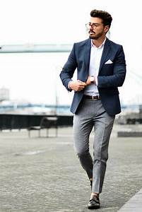 7 Smart u0026 Comfortable Everyday Outfit Ideas You Can Steal   Menu0026#39;s fashion Blazers and Street styles