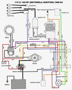 3 Wire 140 Alternator Wiring Diagram by Mercruiser Electrical Diagram On Mercruiser Images Free
