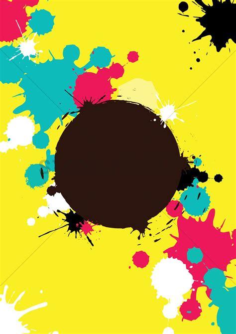 color splatter color splatter background vector image 1979418