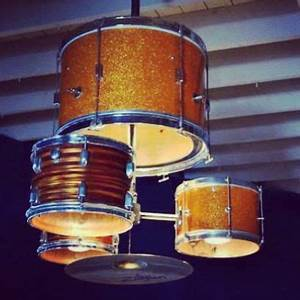 Drum Shade Light Kit Light Shade From Old Drum Kit Diy Drums Drum
