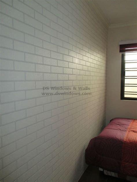 brick effect vinyl wallpaper design and style ideas