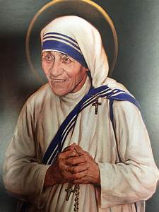 Mother teresa's official canonization picture was painted ...