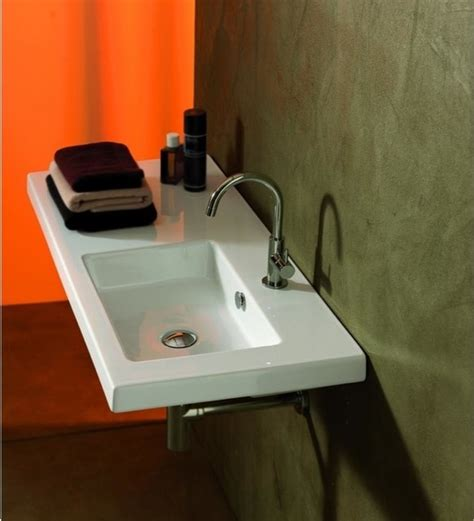 bathroom countertops with sinks built in wall mounted vessel or built in sink with left counter