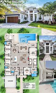 Florida, House, Plans, With, Pool, 2021