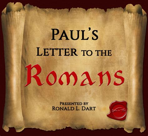 letter to the romans paul s letter to the romans born to win