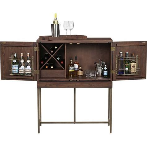 Crate And Barrel Bourne Bar Cabinet by Bourne Bar Cabinet
