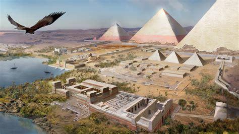 wallpaper assassins creed origins giza egyptian