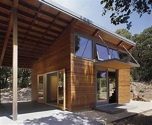 Master suite and outdoor room (breezeway) - Modern