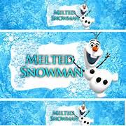 Melted Snowman Frozen ...